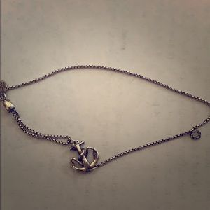 Alex and Ani pull bracelet Anchor